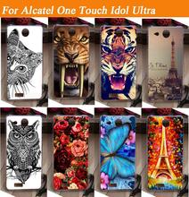 hot Painting Cover Case For Alcatel One Touch Idol Ultra OT 6033 OT-6033 6033X TCL S850 Cell Phone case
