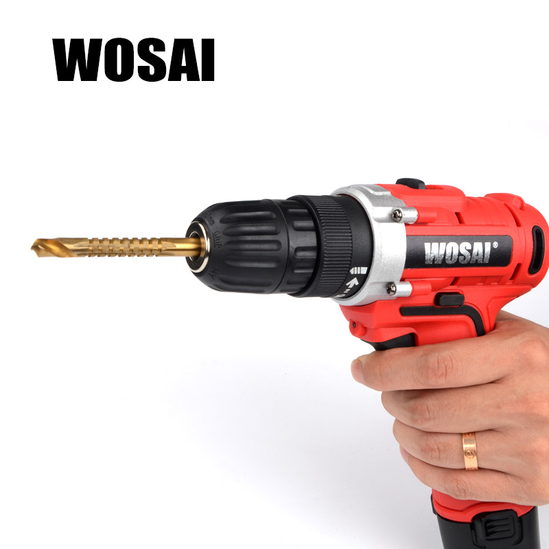 WOSAI 6 vnt. Elektrinių gręžtuvų ir pjūklų rinkinys HSS plieno - Grąžtas - Nuotrauka 5