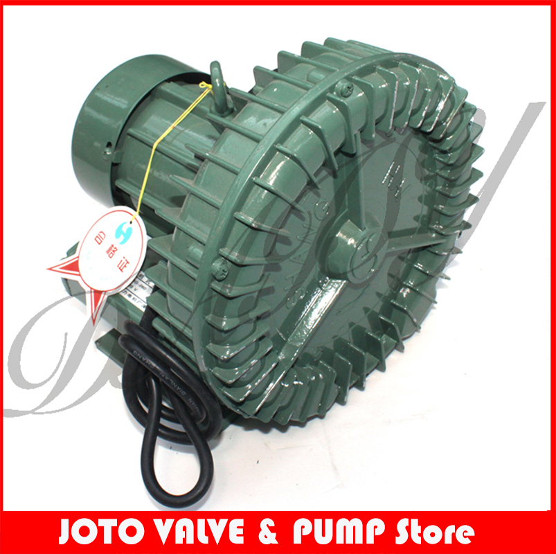 300w Special aluminum industrial vacuum high pressure vacuum swirling vortex blower / carpentry pump 2 2kw high pressure ring blower vacuum air pump for industry