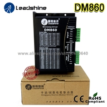 Leadshine DM860 2-Phase 32-Bit DSP Digital Stepper Drive of 20 - 80 VDC Input Voltage and 2.4 - 7.2A Output Current high quality leadshine 2 phase digital stepper drive 3dm583 work 24v 50 vdc out 2 1a to 8 3a