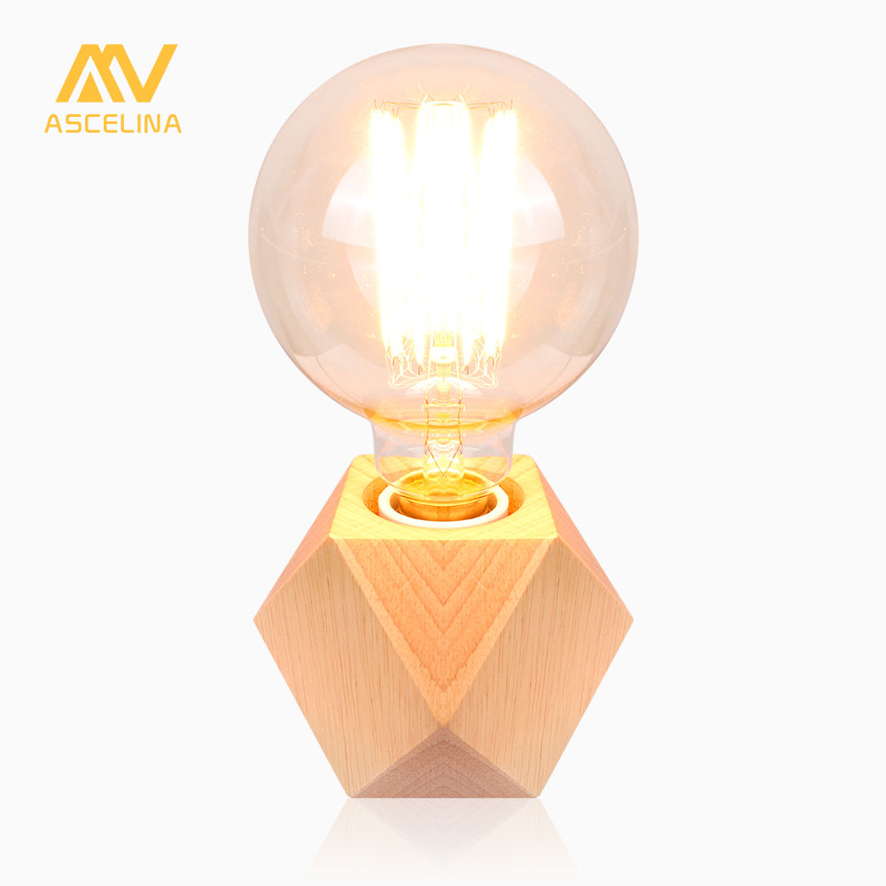 Wooden Desk Lamp Nordic table lamp wooden led desk light mini reading Light Table and offices