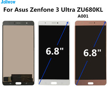 цена на Tested! For Asus Zenfone 3 Ultra ZU680KL A001 LCD Display+ Touch Screen Digitizer Assembly Replacement Accessories