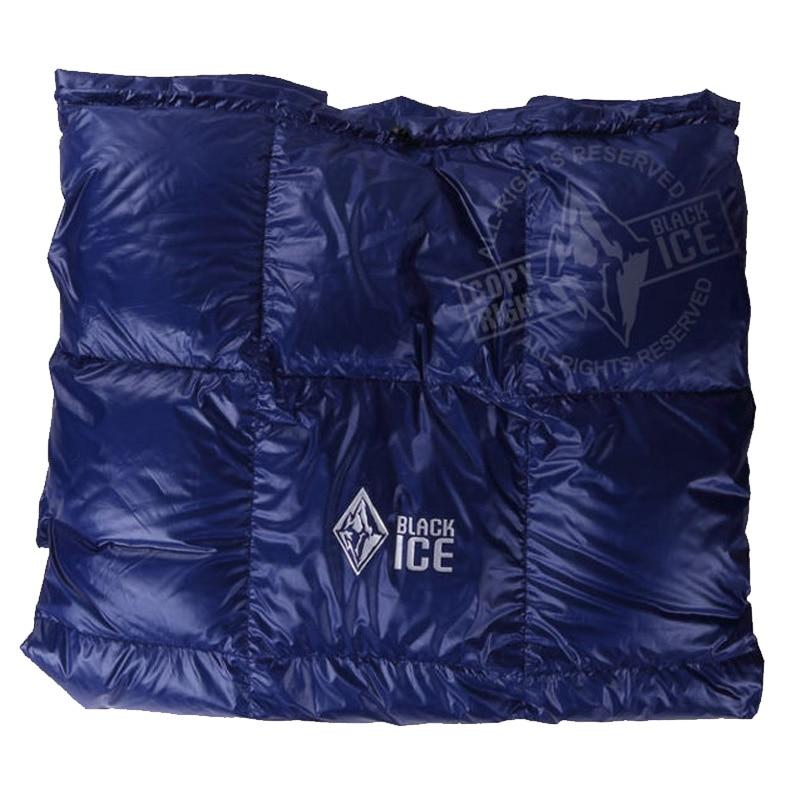 Black Ice Splicing  Ultra Light Goose Down Blanket Spring/Summer/Autumn Quilt/Sleeping Bag Duvet|down sleeping bag|sleeping bag|sleeping bag down - title=