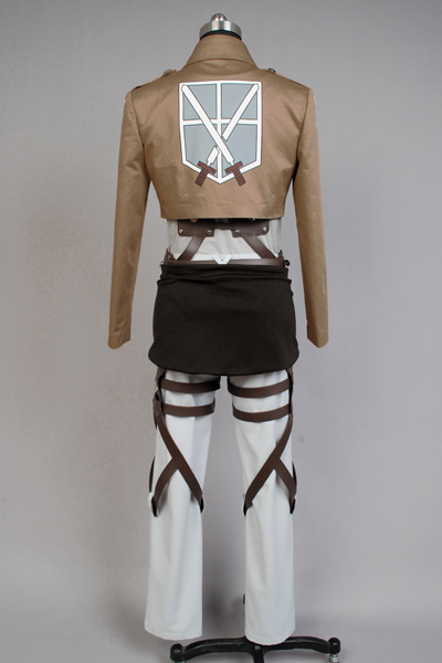 Attack on Titan Shingeki no Kyojin Training Corps Eren Jaeger Costume Halloween Party from Attack on Titan