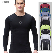 A Men Gym Compression Fitness Sets Yoga Sport Set Clothes Long Sleeve Running Quick Dry Basketball Jogging Suit