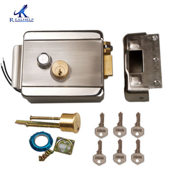 Access Entry Security System Wired Electric door Lock DC12V Motor Lock Video Intercom Doorbell Door Access Control System цена 2017