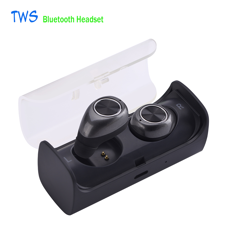 Mini Twins Bluetooth Earphone Handsfree TWS bluetooth headset with Power Bank For iPhone7 Airpod Xiaomi Smartphone Android mini bluetooth earphone with car charger 2 in 1 driver kobwa bluetooth 4 0 headset earphone for iphone 7 6s android smartphone