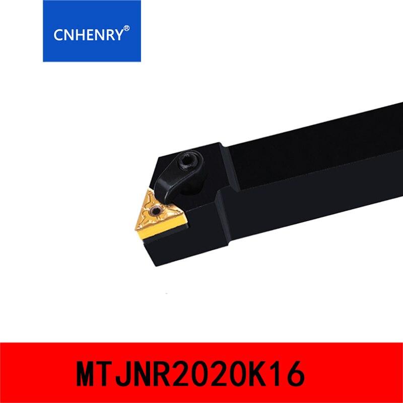 1P MTJNL2020K16 CNC Herramienta de giro externo para inserto de carburo TNMG1604