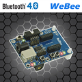 Bluetooth 4 (BLE) /CC2540 sensor node base plate integrated lithium battery charging circuit