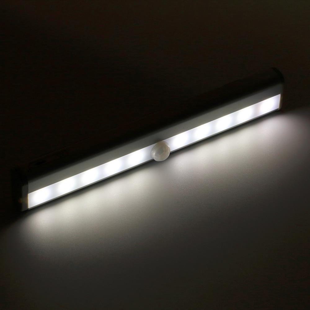 ICOCO Wireless PIR Auto Motion Sensor Light Intelligent Portable Infrared Induction Lamp Night Lights For Cabinet Hotel Closet