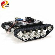 ESP8266 RC умный робот-Танк шасси с двойным двигателем постоянного тока+ макетная плата Nodemcu+ L293D плата драйвера двигателя для DIY проекта TS100