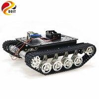 ESP8266 RC умный робот бак шасси с двойной двигатель постоянного тока + Nodemcu развитию + L293D доска водитель мотора для DIY проект TS100