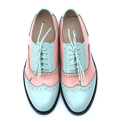 Genuine Leather Flat Shoes Women US
