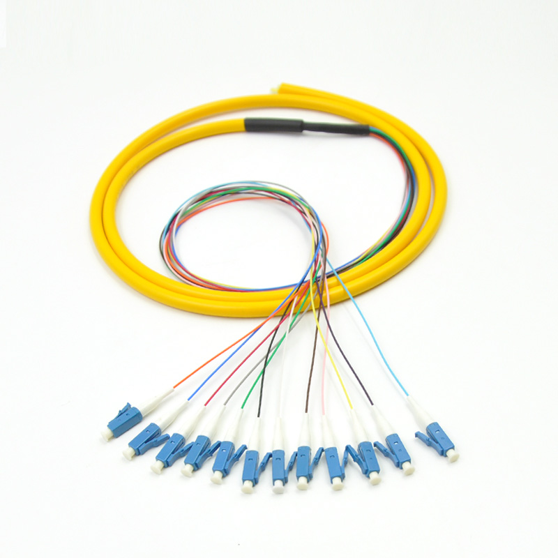 12 Strand 9/125 Fiber Optic Pigtail 3m LC/UPC Single Mode-in Fiber Optic Equipments from Cellphones & Telecommunications