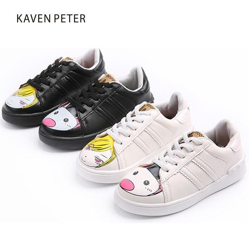 Aliexpress.com : Buy Fashion white shoes casual kids ...