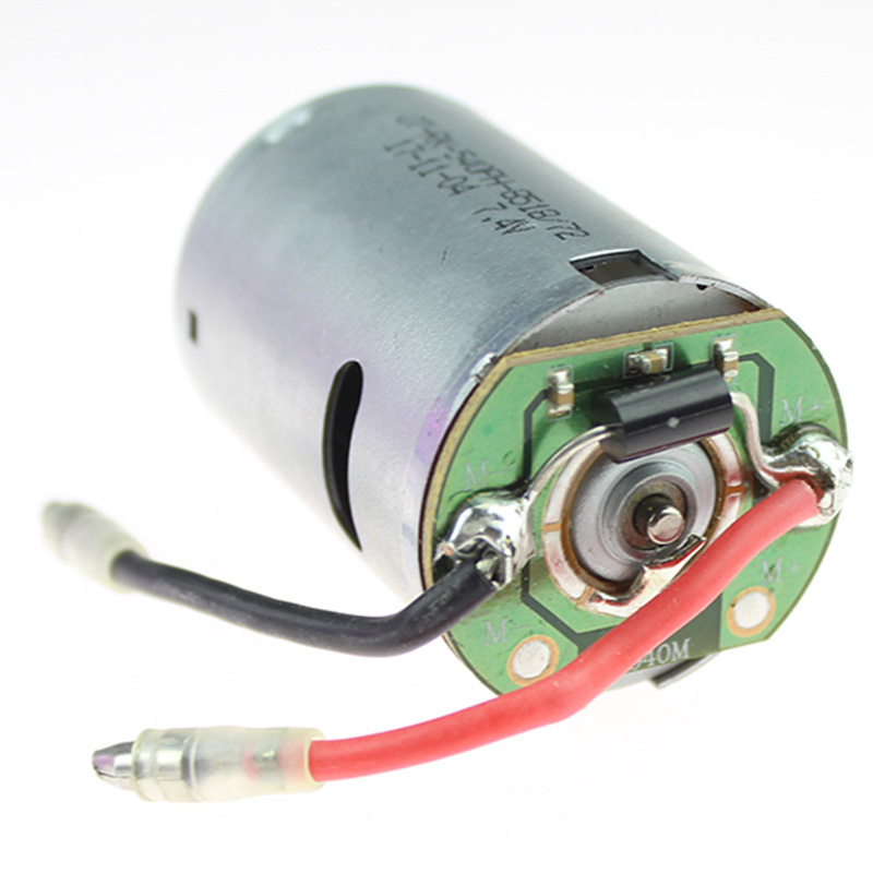 Image 3 - Rc Car Spare Parts 540 Electric Motor 12428 0121 7.4V 540 Motor For Wltoys 12428 12423 Electric Machinery-in Replacement Parts & Accessories from Consumer Electronics