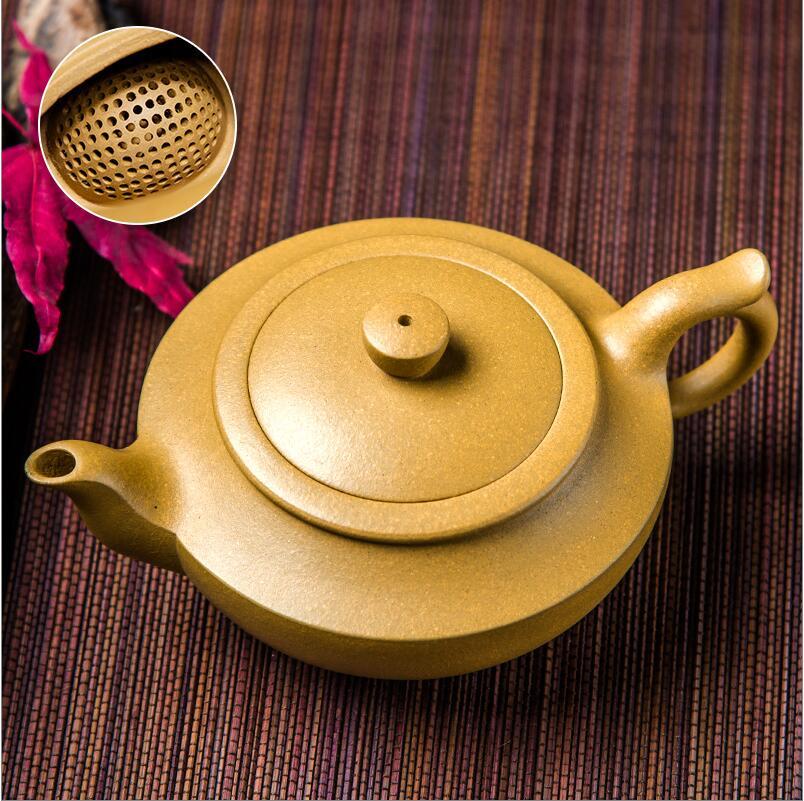 WSHYUFEI new 1pcs Yixing teapot 230ml handmade tea with pot kung fu tea more water hole
