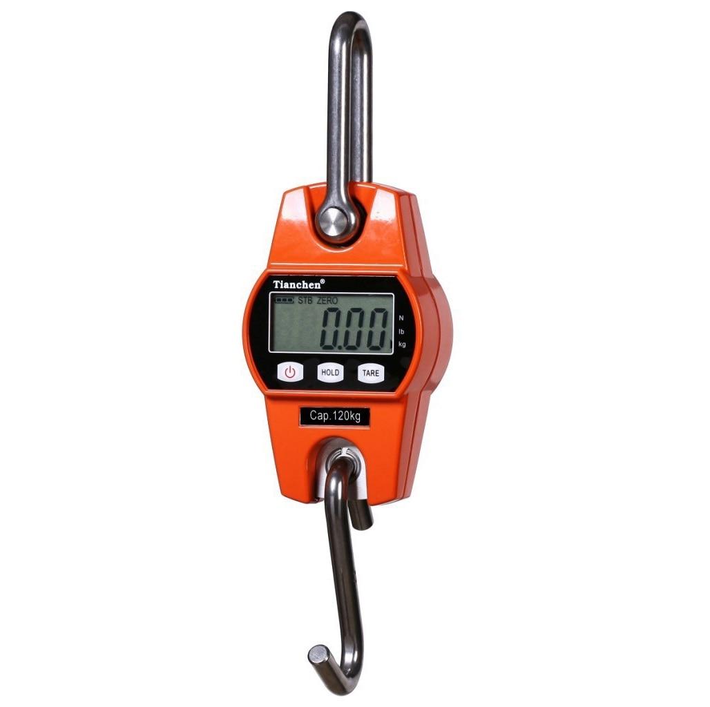 300 kg Mini Balance de grue Portable LCD numérique électronique en acier inoxydable crochet suspendu poids grue balances Balance de pesage