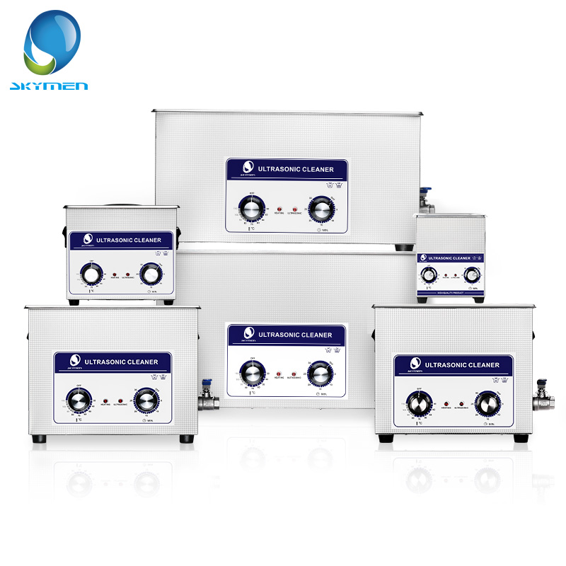 SKYMEN Ultrasonic Cleaner 2 30L Heated Stainless Basket Industrial Metal Parts Medical Lab Instruments Ultrasound Cleaning Bath