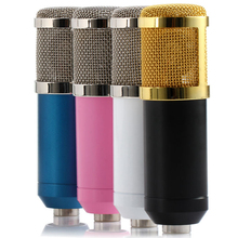 AGEAR Professional BM-800 BM800 Microphone 3.5mm Wired Condenser Sound Recording karaoke Microphone with Shock Mount