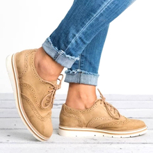 2019 Woman Shoes Platform Oxfords British Style Cut-Outs Lace Up Footwear Sneakers for Women Casual Shoes gpokhds big size 33 45 high quality hot sale 2017 new style women casual black color cut outs lace up oxfords shoes flats shoes
