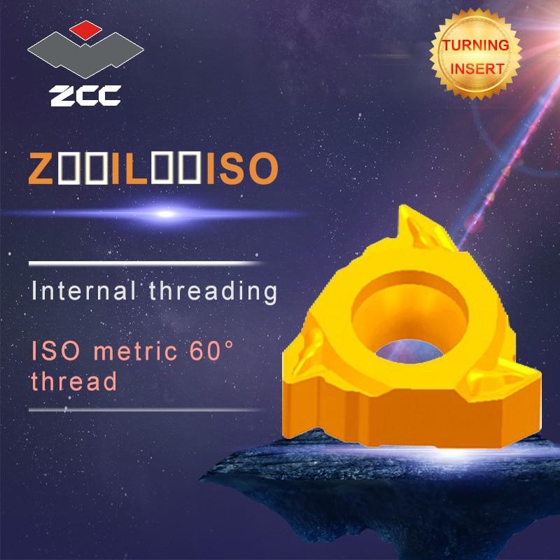 10pcs/lot Z22IL3.5-6.0ISO YBG205 YBG203 original ZCC carbide insert lathe tools cnc carbide threading inserts 10pcs lot sen013dg original