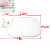 Plastic Post Mounted Shelf Tray Table Dentistry Chair Accessories Dental Chair Tray