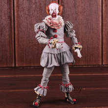 NECA Stephen King's It Pennywise Horror Movie Action Figures PVC Collectible Model Toy(China)