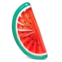 New Inflatable Giant fruit Floating Bed Raft Water Pool watermelon Slice Shape Summer Party New Swimming Air Mattresses