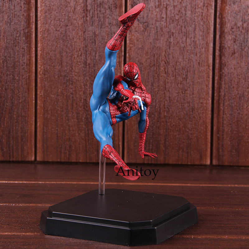 цена Iron Studios BDS Battle Diorama Series Spider-Man Action Figures Marvel Spiderman Hot Toys PVC Collectible Model Toy