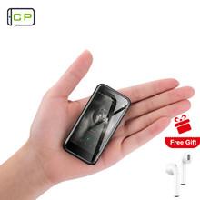 Melrose S9 PLUS Mini Smartphone Ultra Slim telefon komórkowy z systemem Android 7 0 2 45 cal MT6737 Quad Core z 4G LTE GPS Google Play tanie tanio Nie odpinany Do 48 godzin Nowy 480x320 1580 Nonsupport 1 karty SIM Inne Smartfony Normalny ekran Pojemnościowy ekran Angielski