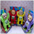 1 pcs Brand Teletubbies Baby toys plush Dolls 3D Export US 33CM toy for Kids Christmas gifts Children gift TV Doll without box