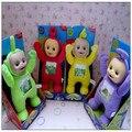 1 pcs Marca brinquedos Do Bebê Bonecos de pelúcia Teletubbies 3D Exportação EUA 33 CM Boneca de brinquedo para As Crianças presentes de Natal presente Das Crianças TV sem caixa