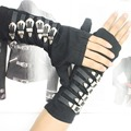 MJ Michael Jackson BAD tour Punk Dirty Diana Arm braces Gloves Black Cotton adjustable- EXACT SAME