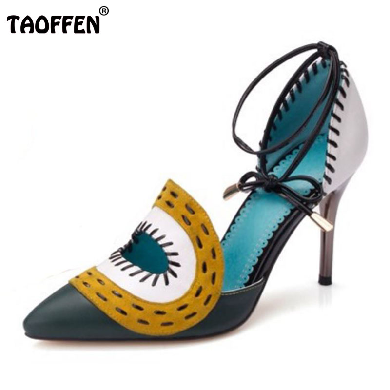 free shipping quality genuine leather high heel sandals women sexy footwear fashion lady shoes R4470 hot sale 34-39 free shipping quality high heel sandals women sexy fashion lady female shoes p3319 hot sale eur size 34 39