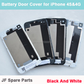 Battery Door Cover Case Replacement Back Cover Rear Door Housing Case For iPhone 4S 4G Black White Mix Model Color 20PCS/Lot