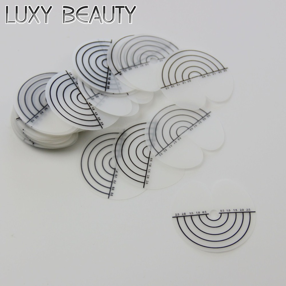 25pcs/pack Hair Extension Heat Scale Protector Shields Hair Extension Tool Part Skull Protector for Fusion Hair Extension