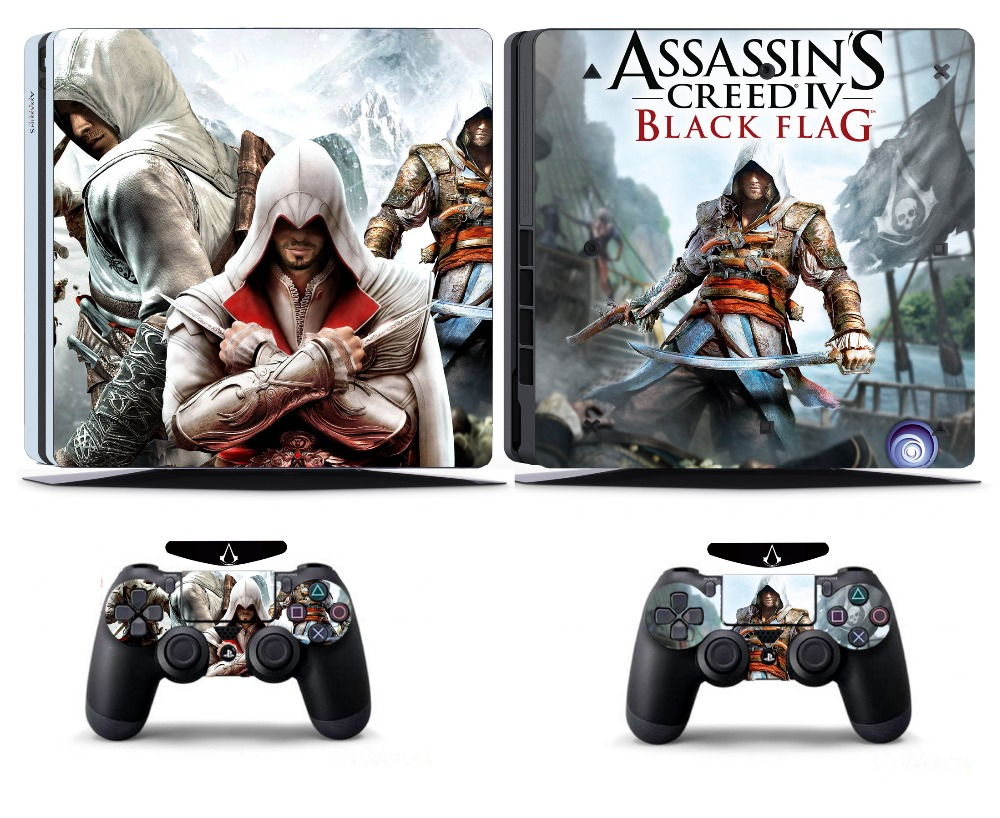 Video Games & Consoles Assassin 211 Vinly Skin Sticker Cover For Sony Ps4 Slim Playstation 4 Slim Wide Selection;