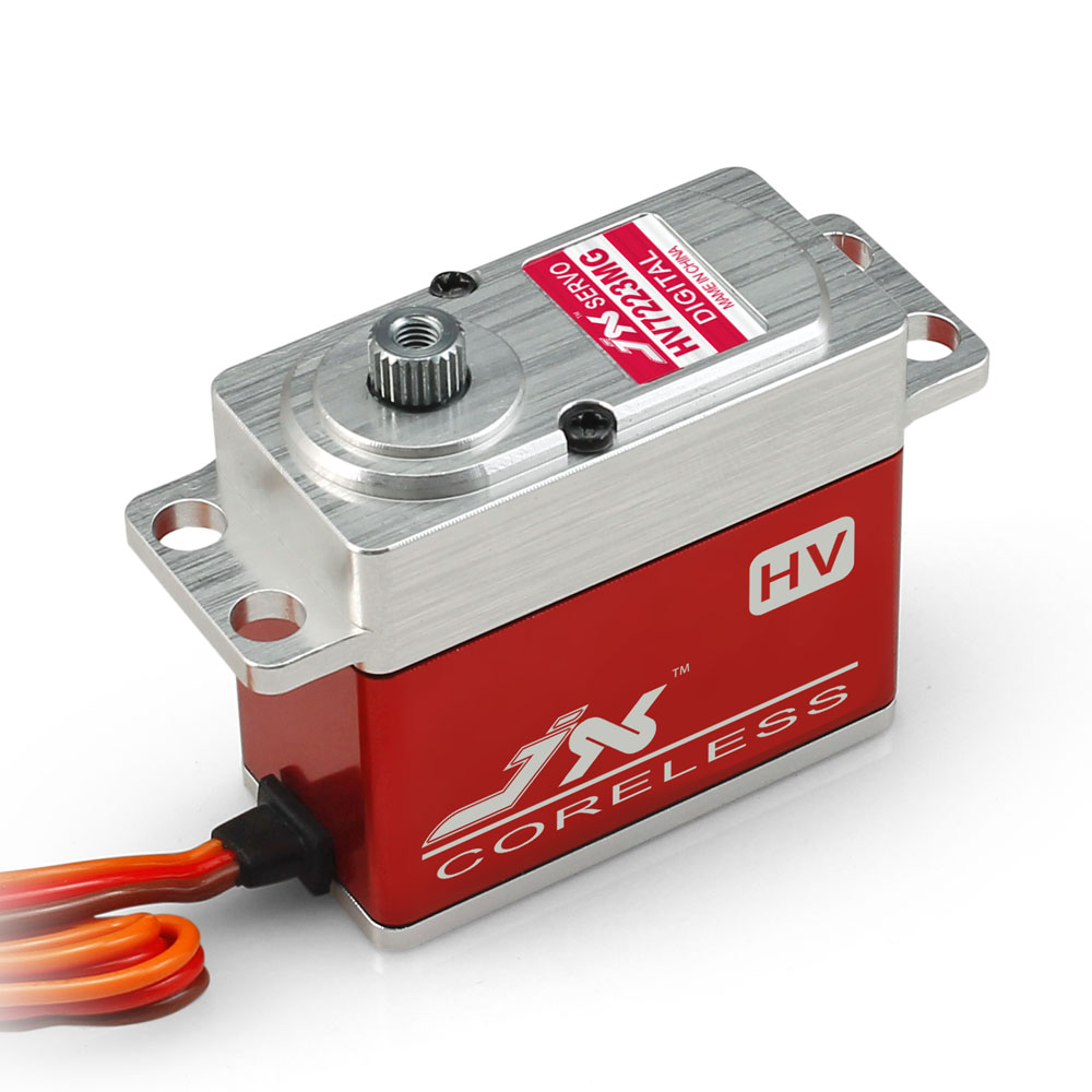 JX Servo/PDI - HV7223MG 23 kg/large torsion all-metal shell hv digital Servo superior hobby jx pdi hv5212mg high precision metal gear full cnc aluminium shell high voltage digital coreless short servo