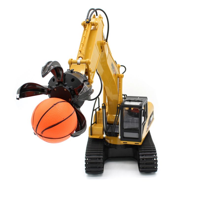 Boy Gift RC Toy Electric Catch Ball Mobile Machinery Truck 571 2.4G Large Remote Control RC Grip Ball machine Model With Ball - 2