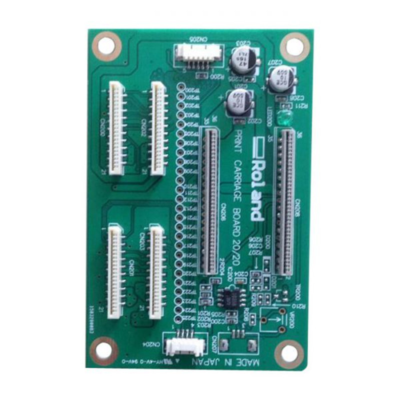 Roland Carriage Board For SP-300 / SP-300V / SP-540 / SP-540V Printer roland sj 540 sj 740 fj 540 fj 740 6 dx4 heads board