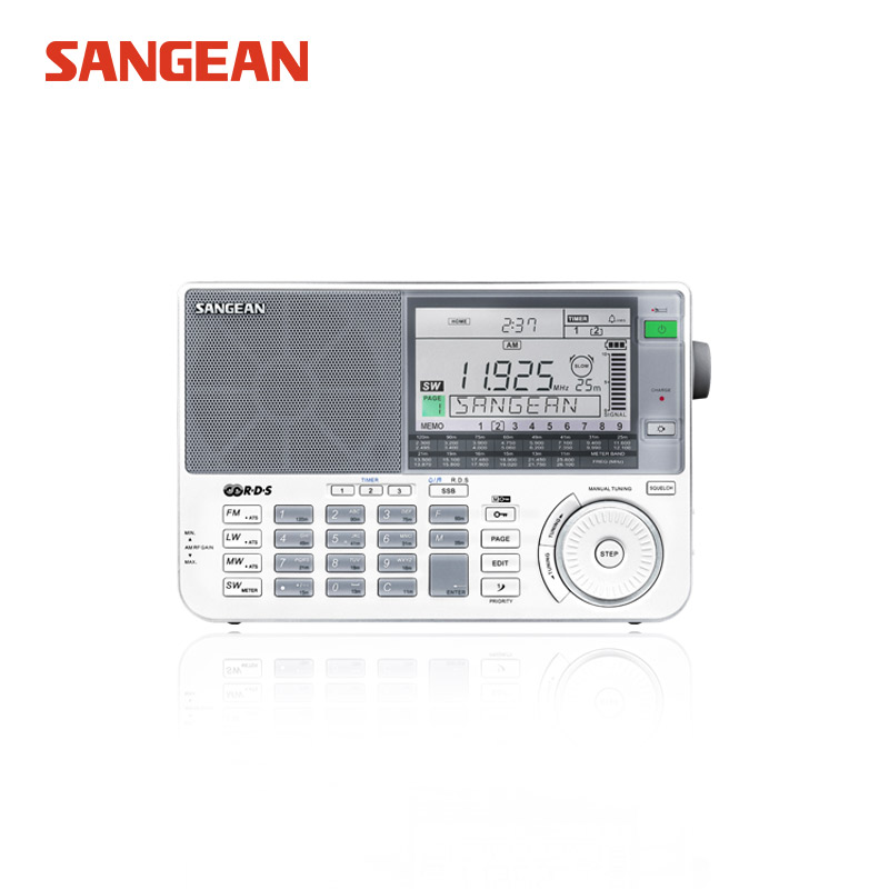 Sangean ATX-909X Radio dab radio fm Full Band Radio Digital Demodulator FM/AM/SW/LW Stereo Radio panda panda 6130 full band digital stereo radio signal stabilization русский вступительный экзамен 46 прослушивание черный