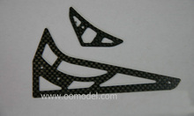 Tarot 450 Carbon Stabilizer 1 2mm TL45032 Tarot 450 RC Helicopter Spare Parts FreeTrack Shipping