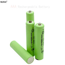 4psc / lot AAA 1.2v 1800mah remote control toy rechargeable nickel-metal hydride rechargeable battery