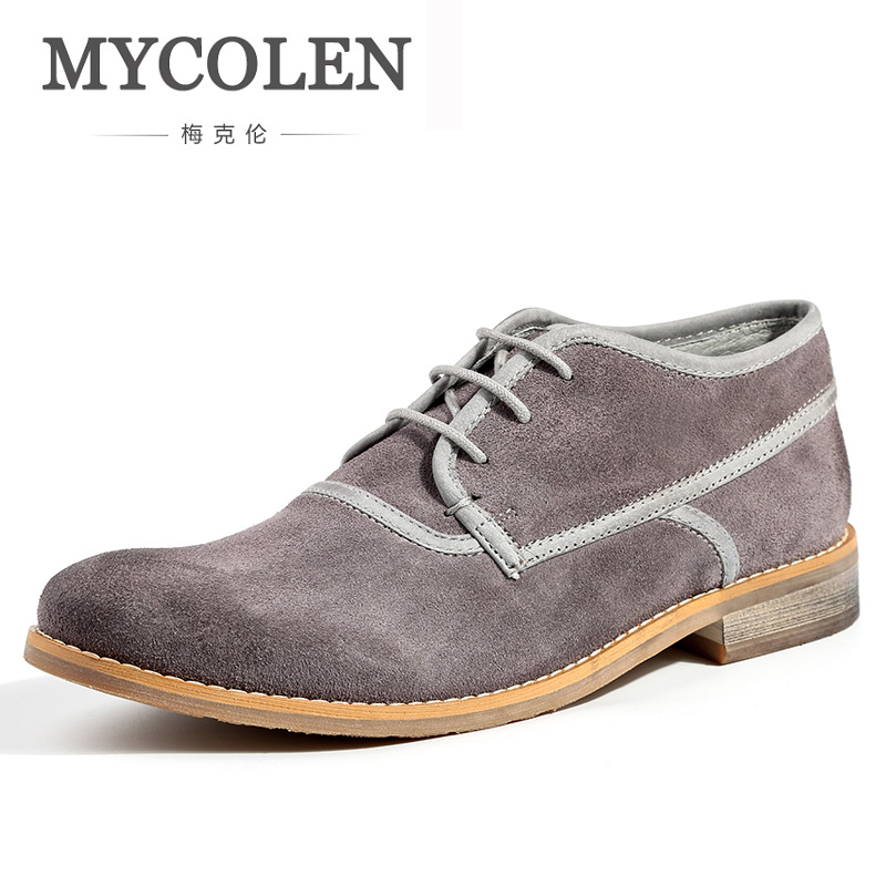 MYCOLEN 2018 New Men'S Shoes Design Fashion Men Casual Shoes Luxury Designer Lace Up Rubber Sole Zapatos De Hombre De Vestir цена