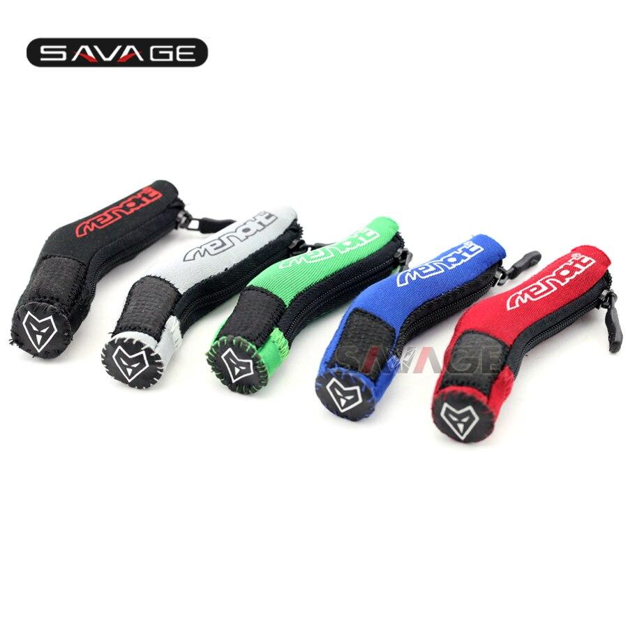 все цены на For KAWASAKI Z250 Z300 Z750 Z800 Z1000 Z1000SX ER4N ER6N ER6F Motorcycle Pedal Gear Shift Cloth Sock Cover Boot Shoe Protector онлайн