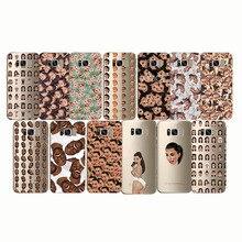 Kim Kardashian Kimoji Funny Crying Face Case Silicon Soft Clear  for samsung Note10 pro S6 S7 s8 S9 s10 edge plus S10e