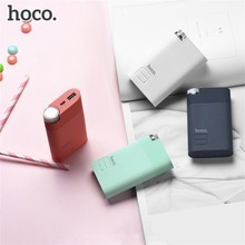 HOCO Power Bank 8000mAh Colorful 18650 Battery Phone Charger External Battery Mobile Powerbank Backup Universal For Phone Tablet