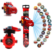 Disney Cartoon 24 Figure Electronic Glowing Toys Watch 3D deformation toys for children car cheap Puppets ROBOT Soldier Finished Product Finished Goods Unisex One Size 20cm 1 100 Western Animiation Remastered Version 13-24 Months