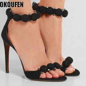 2018 new thin heel women shoes
